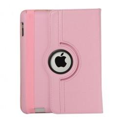 Atverčiamas dėklas (360°) - rožinis (iPad 2 / 3 / 4)