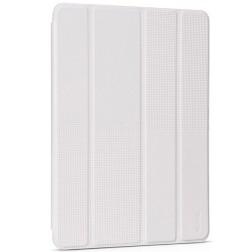 """""""HOCO"""" Crystal Fashion atverčiamas odinis dėklas - baltas (iPad Air 2)"""