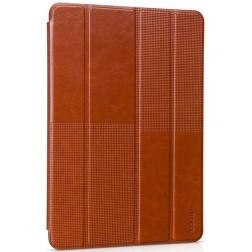 """""""HOCO"""" Crystal Fashion atverčiamas odinis dėklas - rudas (iPad Air 2)"""