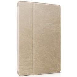 """""""HOCO"""" Retro atverčiamas dėklas - auksinis (iPad Air 2)"""