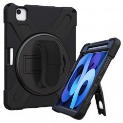"""Sustiprintos apsaugos (360°) dėklas - juodas (iPad Pro 11"""" 2020 / 2018 / Air 4 2020)"""