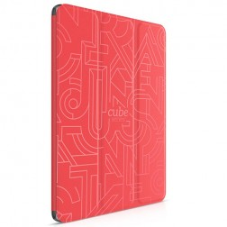 """""""HOCO"""" Cube atverčiamas dėklas - raudonas (iPad Air 2)"""