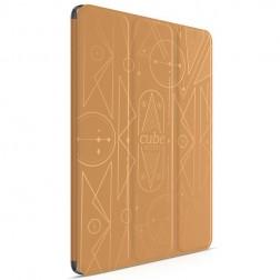 """""""HOCO"""" Cube atverčiamas dėklas - rudas (iPad Air 2)"""