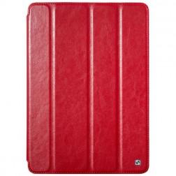 """""""HOCO"""" Crystal atverčiamas odinis dėklas - raudonas (iPad Air)"""