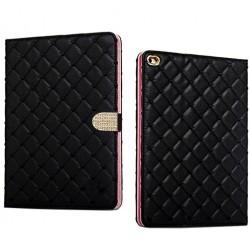 """""""Glam"""" atverčiamas dėklas - juodas (iPad Mini 1 / 2 / 3)"""