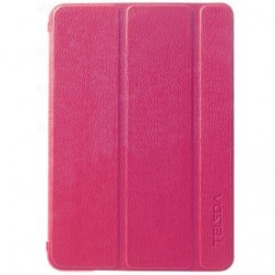 """""""Telsda"""" atverčiamas dėklas - rožinis (iPad Mini 1 / 2 / 3)"""