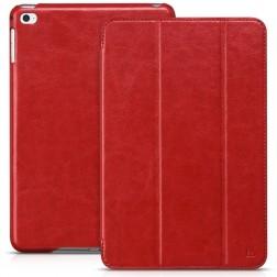 """""""HOCO"""" Retro atverčiamas dėklas - raudonas (iPad mini 4 / iPad mini 2019)"""
