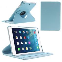 Atverčiamas dėklas (360°) - šviesiai mėlynas (iPad Mini 1 / 2 / 3)