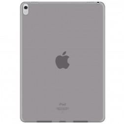 Kieto silikono (TPU) dėklas - skaidrus, pilkas (iPad Pro 10.5 / iPad Air 2019)