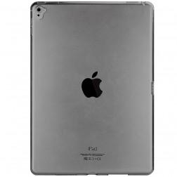 Kieto silikono (TPU) dėklas - skaidrus, pilkas (iPad Pro 9.7)