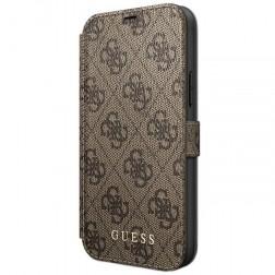 """""""Guess"""" atverčiamas dėklas, knygutė - rudas (iPhone 12 Pro Max)"""
