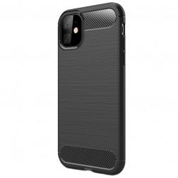 """""""Carbon"""" kieto silikono (TPU) dėklas - (iPhone 11)"""