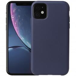 Kieto silikono (TPU) dėklas - mėlynas (iPhone 11)