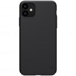 """""""Nillkin"""" Frosted Shield dėklas - juodas (iPhone 11)"""
