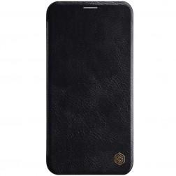 """""""Nillkin"""" Qin atverčiamas dėklas - juodas (iPhone 11)"""