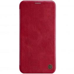 """""""Nillkin"""" Qin atverčiamas dėklas - raudonas (iPhone 11)"""