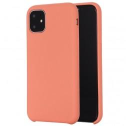 Kieto silikono (TPU) dėklas - oranžinis (iPhone 11)