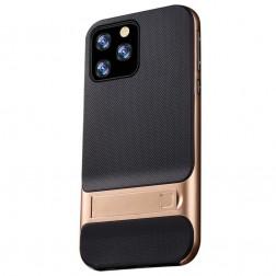 """""""Kickstand"""" dėklas - auksinis (iPhone 11 Pro)"""
