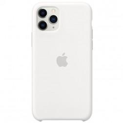 "Oficialus ""Apple"" Silicone Case dėklas - baltas (iPhone 11 Pro)"