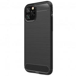 """""""Carbon"""" kieto silikono (TPU) dėklas - (iPhone 11 Pro)"""