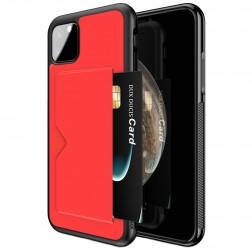 """""""Dux Ducis"""" Pocard dėklas - raudonas (iPhone 11 Pro)"""