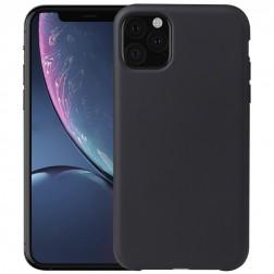 Kieto silikono (TPU) dėklas - juodas (iPhone 11 Pro)