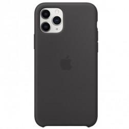 """Oficialus """"Apple"""" Silicone Case dėklas - juodas (iPhone 11 Pro)"""