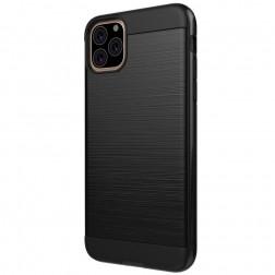 Sustiprintos apsaugos dėklas - juodas (iPhone 11 Pro)