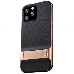 """""""Kickstand"""" dėklas - auksinis (iPhone 11 Pro Max)"""