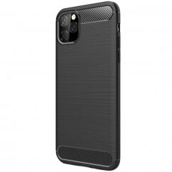 """""""Carbon"""" kieto silikono (TPU) dėklas - (iPhone 11 Pro Max)"""