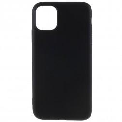 Kieto silikono (TPU) dėklas - juodas (iPhone 11 Pro Max)