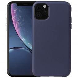 Kieto silikono (TPU) dėklas - mėlynas (iPhone 11 Pro Max)