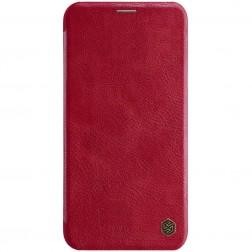 """""""Nillkin"""" Qin atverčiamas dėklas - raudonas (iPhone 11 Pro Max)"""