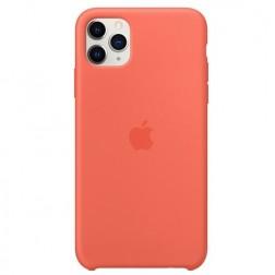 "Oficialus ""Apple"" Silicone Case dėklas - oranžinis (iPhone 11 Pro Max)"