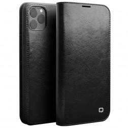 """""""QIALINO"""" atverčiamas dėklas - juodas (iPhone 11 Pro Max)"""