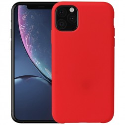 Kieto silikono (TPU) dėklas - raudonas (iPhone 11 Pro Max)