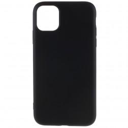 """""""Shell"""" kieto silikono (TPU) dėklas - juodas (iPhone 11 Pro Max)"""