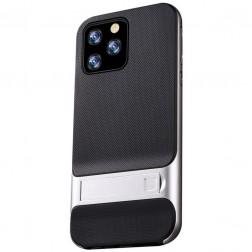 """""""Kickstand"""" dėklas - sidabrinis (iPhone 11 Pro Max)"""