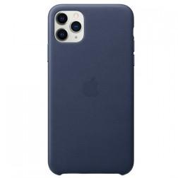 "Oficialus ""Apple"" Silicone Case dėklas - tamsiai mėlynas (iPhone 11 Pro Max)"