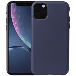 Kieto silikono (TPU) dėklas - mėlynas (iPhone 11 Pro)