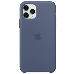 "Oficialus ""Apple"" Silicone Case dėklas - mėlynas (iPhone 11 Pro)"