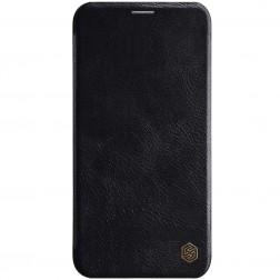 """""""Nillkin"""" Qin atverčiamas dėklas - juodas (iPhone 11 Pro)"""