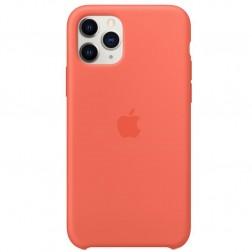 """Oficialus """"Apple"""" Silicone Case dėklas - oranžinis (iPhone 11 Pro)"""