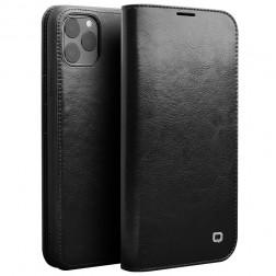 """""""QIALINO"""" atverčiamas dėklas - juodas (iPhone 11 Pro)"""