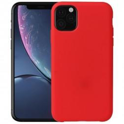 Kieto silikono (TPU) dėklas - raudonas (iPhone 11 Pro)