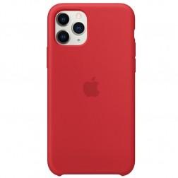 """Oficialus """"Apple"""" Silicone Case dėklas - raudonas (iPhone 11 Pro)"""