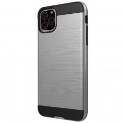 Sustiprintos apsaugos dėklas - sidabrinis (iPhone 11 Pro)