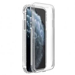 Pilnai dengiantis TPU dėklas - skaidrus (iPhone 11 Pro)