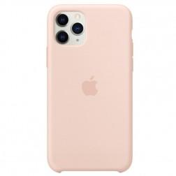 """Oficialus """"Apple"""" Silicone Case dėklas - šviesiai rožinis (iPhone 11 Pro)"""