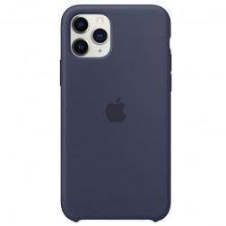 "Oficialus ""Apple"" Silicone Case dėklas - tamsiai mėlynas (iPhone 11 Pro)"